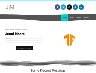 jerodmoore.com screenshot