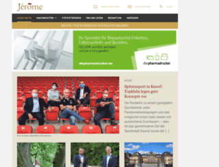 jerome-kassel.de screenshot