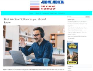 jeromeancheta.com screenshot