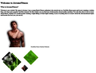 jeromefitness.com screenshot