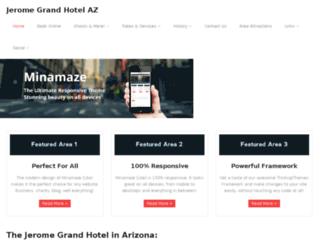jeromegrandhotelaz.com screenshot