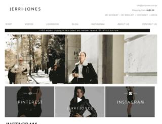 jerrijones.com.au screenshot