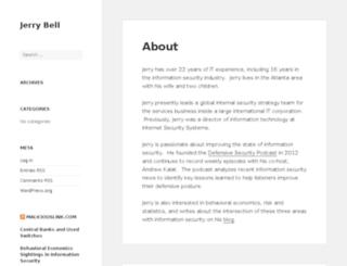 jerry-bell.com screenshot