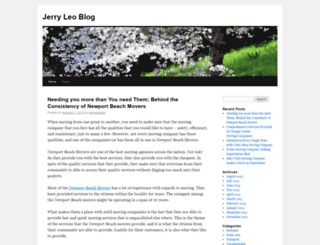 jerryleoblog.wordpress.com screenshot