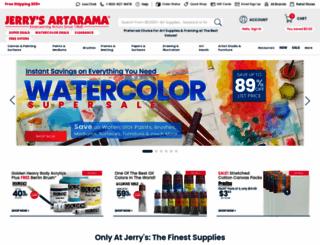 jerrysartarama.com screenshot