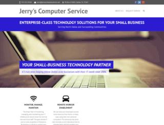 jerryscomputerservice.net screenshot