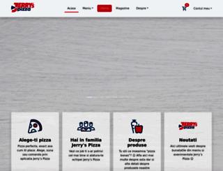 jerryspizza.ro screenshot