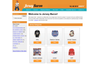 jerseybaron.com screenshot