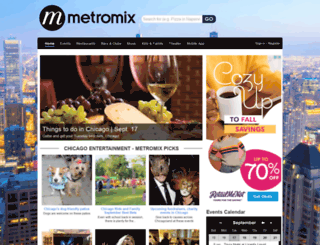 jerseyshore.metromix.com screenshot