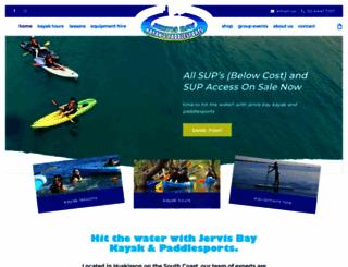jervisbaykayaks.com.au screenshot