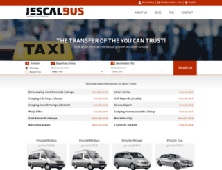 jescalbus.com screenshot