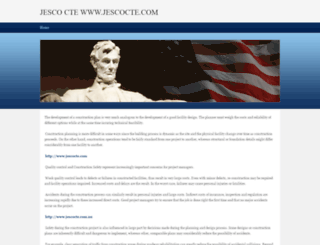 jescocte.weebly.com screenshot