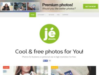 jeshoots.cz screenshot