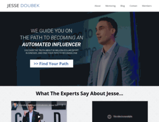 jessedoubek.com screenshot