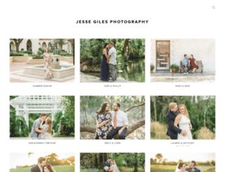 jessegilesphotography.pixieset.com screenshot