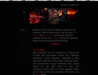 jessekimmelfreeman.com screenshot