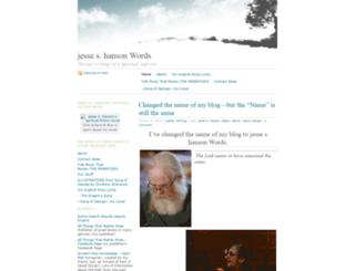 jesseshanson.wordpress.com screenshot
