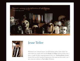 jesseteller.com screenshot