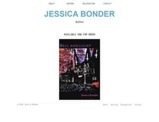 jessicabonder.com screenshot