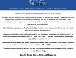 jessicawilliams.com screenshot