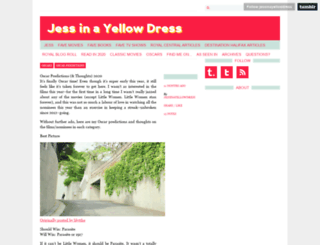 jessinayellowdress.com screenshot
