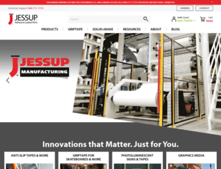 jessupmfg.com screenshot