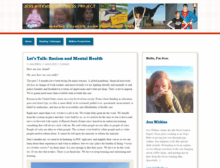 jesswitkins.wordpress.com screenshot