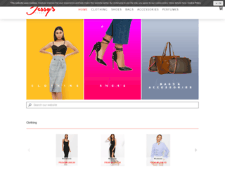 jessyscloset.com screenshot