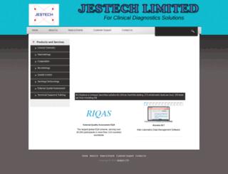 jestechdiagnostics.com screenshot