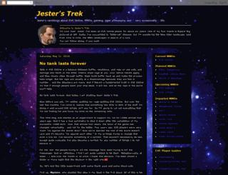 jestertrek.blogspot.dk screenshot