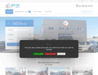 jestin-autos.fr screenshot