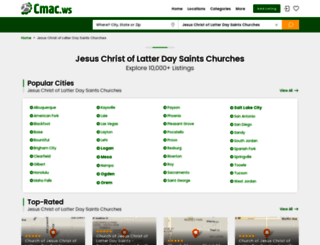 jesus-christ-of-latter-day-saints-churches.cmac.ws screenshot