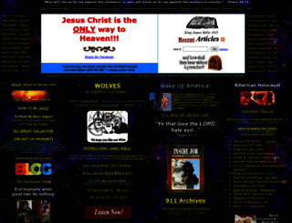 jesus-is-savior.com screenshot