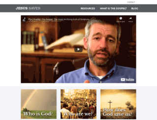 jesus-saves.com screenshot