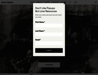 jesusculture.com screenshot