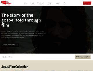 jesusfilmmedia.org screenshot
