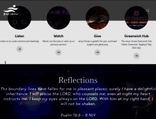 jesushouse.org.uk screenshot