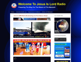 jesusislordradio.webs.com screenshot