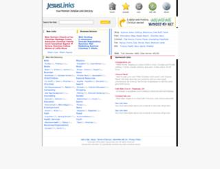 jesuslinks.net screenshot