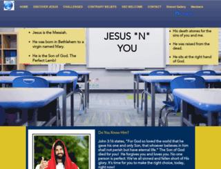 jesusnyou.com screenshot