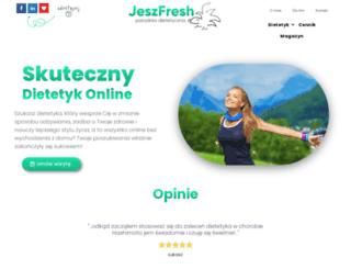 jeszfresh.pl screenshot