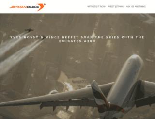 jet-man.com screenshot
