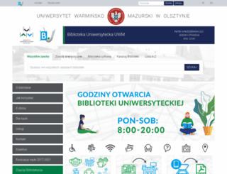 jet.uwm.edu.pl screenshot