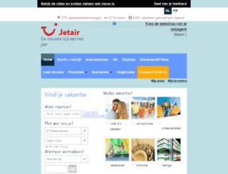 jetair.be screenshot