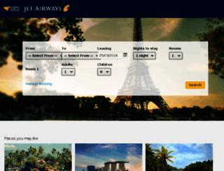 jetairways.tripfactory.com screenshot