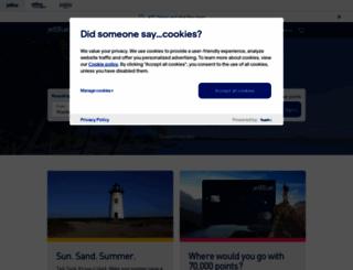 jetblue.com screenshot