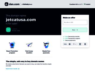 jetcatusa.com screenshot