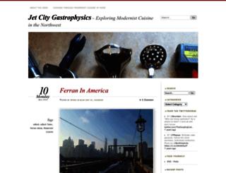 jetcitygastrophysics.com screenshot