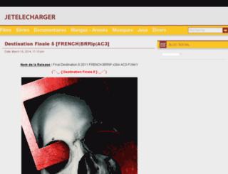jetelecharger.fr screenshot