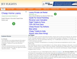 jetflights.in screenshot